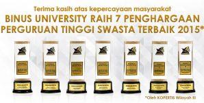 RATUSAN BINUSIAN RAIH PENGHARGAAN DI AJANG APPRECIATION DAY 2016